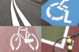 Tarmacoat- Farba do malowania oznaczeń na parkingach